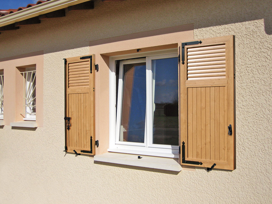 Volets battants coulissants socobois for Volet exterieur bois